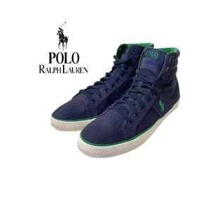 Polo Ralph Lauren Bawtry Canvas Higj Top Sneakers